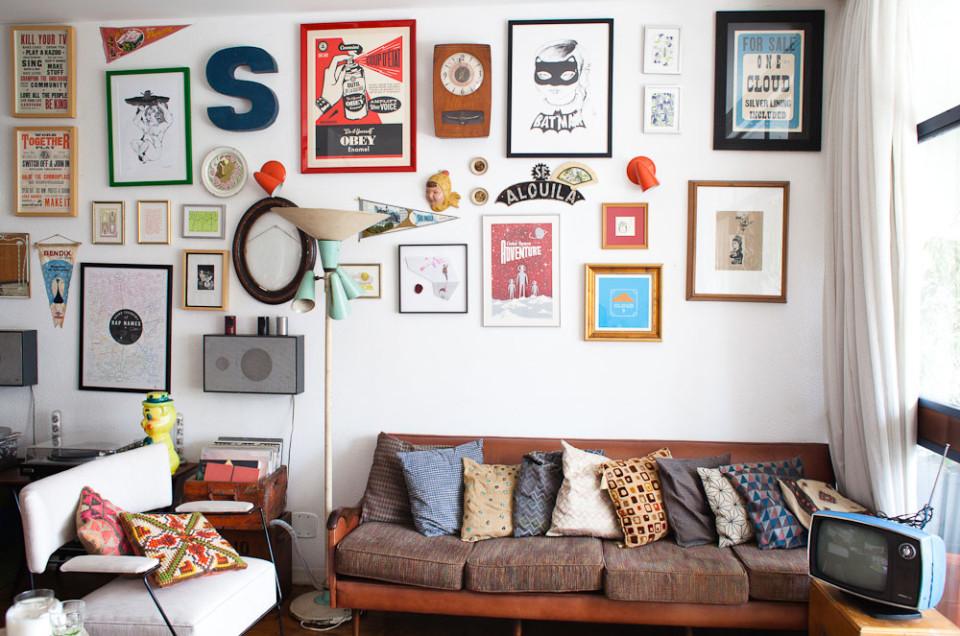 Unidos pelo amor e pelo garimpo de móveis antigos