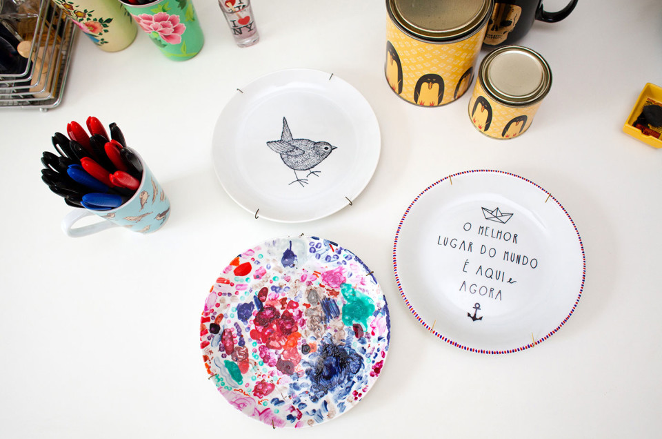 A jornalista que trocou o concurso pela arte em porcelana