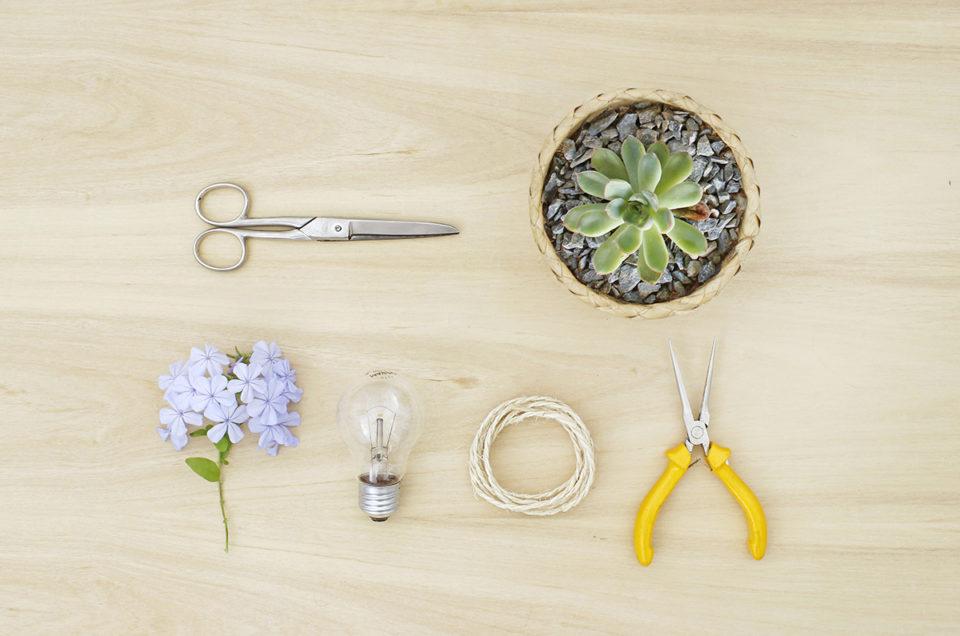 Como fazer um vasinho de flores pra decorar o home office – por Oliver Thi